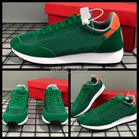 2019 Mens Stranger Things Tailwind 79 OG Hawkins High QS Scarpe da corsa Green High School Sneakers sportive Designer Trainers des Chaussures