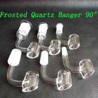 Polaco 4mm de grosero de cuarzo Banger Tool Club Nails DomelDes Sugerencias de 90 grados 10 mm 14 mm 18 mm Hombre masculino para fumar Herramientas Accesorios Accesorios Hookah