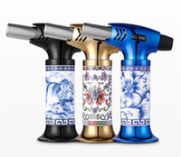 Yeni Mutfak BARBEKÜ Metal Çakmak Sigara Aksesuarları 1300C Turbo Çakmak Elektronik gaz Çakmak Puro Sigara Çakmak CL-500 DHL FEDEX