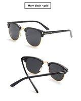 2019 جيمس بوند النظارات الشمسية الرجال العلامة التجارية مصمم الشمس نظارات سوبر ستار المشاهير القيادة النظارات الشمسية توم للرجال النظارات