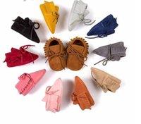 الوليد طفل رضيع فتاة الأخفاف أحذية لينة هامش منعل عدم الانزلاق الأحذية سرير أحذية PU الجلد المدبوغ جلدية الأولى ووكر أحذية
