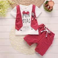 2019 New Summer gentleman' s edition 1- 4 year old baby f...