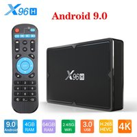 X96H Android 9. 0 Smart TV Box 4GB 32GB 64GB Allwinner H603 D...