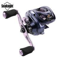 SeaKnight 2018 NUEVO SNIPER Full Metal Baitcasting Reel 7.2: 1 Carrete de pesca anticorrosión de alta velocidad 11KG Aparejos de pesca Agua salada