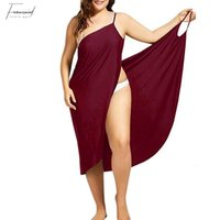 Summber verão beach dress encobrir férias beachwear mulheres beach dress sexy casual sarongue sem mangas plus size vestido