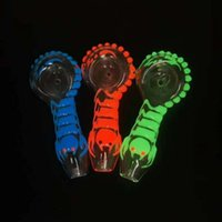 Fast Shipping Colored Glass Beaker Bongs With Diffuse Downst...