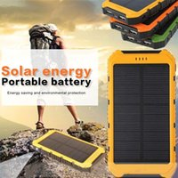 8000mAh Fashion Large Capacity Solar Powerbank Double USB Ou...
