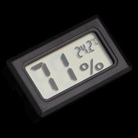 Mini LCD Numérique Thermomètre Hygromètre Température Pratique Capteur De Température Humidité Mètre Jauge Instruments Aquatique