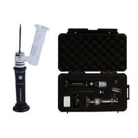 Pipas de agua portátil G9 Greenlightvapes Henail Plus Enail kit de uñas Dab Vape pluma Calentador de cera de la bobina de titanio ENail para la tubería de agua de cristal