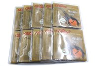 10 set di Alice AM05 Mandolin Strings Stainless SteelCoated lega di rame Wound Strings 1 al 4 010-040 all'ingrosso