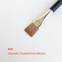 191 Square Foundation Brush - Flat Squared Cream Moisturizer...