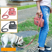 TPFOCUS High Quality Pet Hundeleine Seil Multifunktionale Pet Traction Belt mit Fashion Bag Vorratsbehälter für Walking Dog