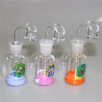 wholesale Glass Ash Catcher With Male14mm 18mm Joint Bubbler...