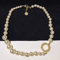 Marque de mode 100e anniversaire designer Collier Pour Les Femmes Parti amoureux de mariage cadeau de luxe bijoux pour la mariée avec la boîte.
