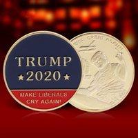 Donald J. Trump 2020 Keep America Große Oberbefehlshaber Herausforderungs-Münze Gedenk Amerika 45. Präsident Neuheit Münze