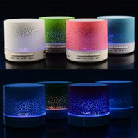 Boa Qualidade A9 Wireless Speaker Led coloridas piscam Bluetooth Mini alto-falantes Radio TF FM USB para o iPhone de 11 Mobile Phone PC S10