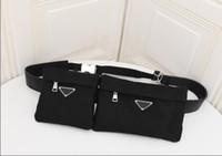 Brand Designer Double Bag Set Waist Belt bag Luxury Fabric S...