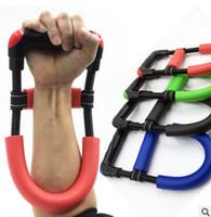 Ręka Grip Arm Trainer Regulowany Przedramię Ręcznie Nadgarstek Siła Trener Władza Wzmocnienie Grip Fit Bodybuilding Fitness