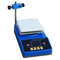 ZnCl-BS 180x180mm Laboratoire électromagnétique Agitateur Équipement de laboratoire intelligent Affichage numérique Agitateurs magnetiques laboratoire plaque chauffante