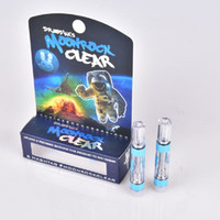 Hot Moonrock Clear Vape Carts Patronen 1.0ml Tank 510 Keramikspule Dickölzerstäuber Moon Rock Vaporizer Press In Tropftipp AT211