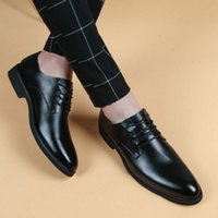 Spring and summer autumn men' s leather shoes men' s...