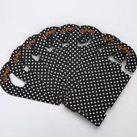 Vestiti personalizzati 350gsm cartellini in quadricromia stampa di carta in carta tag etichette prodotti da appendere tag