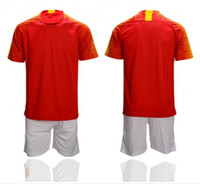 China Home Suit Broderie LOGO Maillots De Football 19/20 Kit De Football À Domicile de Haute Qualité