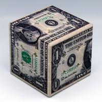 Nuova valuta di sviluppo dell'intelligence del prodotto Dollaro statunitense e sterlina britannica di terzo ordine Giocattolo da regalo creativo con cubo di Rubik