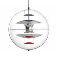 Nordic Danish Design Bola Barco colgante globos de luz Dormitorio Lámparas restaurante Bar Villa Sala de estar Deco luces colgantes accesorios