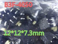 Interrupteur tactile 100pcs / lot B3F-4050 12 * 12 * 7.3mm En stock