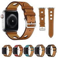 Leder Uhrenarmbänder Kompatibel Apple Watch Series 1 2 3 4 38 mm 40 mm 42 mm 44 mm iWatch Band