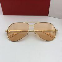 47fd5ea6227 Luxus Mens Pilot Evidence Sonnenbrille Schwarz Gold Grau Linse Designer  Sonnenbrillen Eyewear Brand New in Box