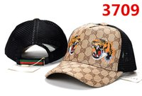 2019 new tiger caps custom baseball cap with hip- hop street ...