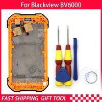 Original Touch Screen LCD Display For Blackview BV6000 BV600...
