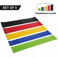 USA Stock Tension Resistance Band Pilate Yoga Rubber Resista...