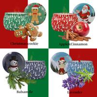크리스마스 향기 나는 양초 장식 산타 클로스, 눈사람 콘 양초 무연 아로마 홈 웨딩 파티 크리스마스 캔들 새로운 GGA2732