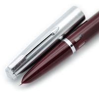 윙 성 601 강철 모자 Vackumatic Fountain 펜 F NIB 인기있는 잉크 펜