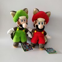 New Mario Luigi Cosplay Bat Super Mario Bros Soft Toy Plush ...