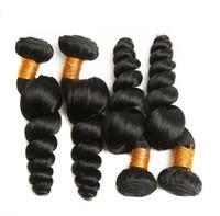 Cutícula do cabelo Atacado baratos solto onda profunda Pacotes Virgin brasileira Alinhados Cabelo Duplo flutua para a mulher preta