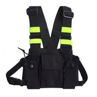Outdoor Hunting Vest Chest Bag Radio Chest Pouch Pack Holder...