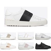 2019 New arrivel Designer Shoes White Fashion Mens Women Lea...