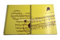 Bär Music Book Note Paper Music Staff Musiker Liedermacher Künstler für Klavier Gitarre Violine Viola Cello Teacher School Supplies