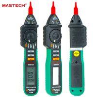فاحص MASTECH MS8212A القلم نوع رقمي متعدد Multimetro DC AC الجهد الحالي الصمام الثنائي استمرارية المنطق عدم الاتصال الجهد