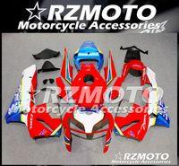 Alta calidad Inyección de plásticos ABS llena de la motocicleta kit del carenado en forma para CBR600RR F5 2005 2006 libre de la aduana Rojo Azul
