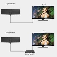 Dijital HDTV Antenler Ücretsiz Tv Surf Radius Anten Kapalı TV Kablo Fox Anten DVB-T T2 VHF UHF TV Surf Antenler Alıcı Ücretsiz Kargo