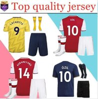 top arsen thailandia kit per adulti maglie da calcio home away terzo pepe 2019 2020 mailot de foot camisetas de fútbol men set magliette da calcio top t