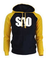 Anime Sao Print Fashion Men Hoody 2019 Autumn Fleece Raglan ...