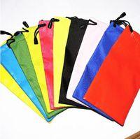 النظارات الشمسية حقيبة جلدية زجاج النظارات الحقيبة الناعمة حقيبة الشحن المجاني للماء الحلوى لوني لون حار مزيج دفعة YSY54Q