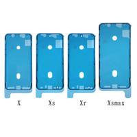 iPhone 8 Plus X Ön Konut LCD Dokunmatik Ekran 300pcs Su geçirmez 3M Ön Cut Yapıştırıcı Bant Sticker Tutkal