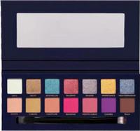 뜨거운 새로운 화장품 Riviera eyeshadow 팔레트 14 색 매트 아이섀도 착색 된 분말 오래 지속되는 쉬머 아이 Coutour 메이크업 무료 배송